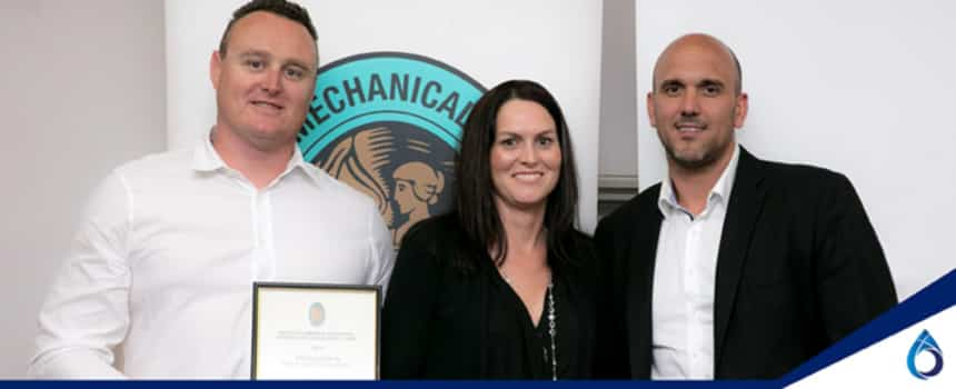 Winner – Master Plumbers Award for Excellence in Work Health and Safety – 2017